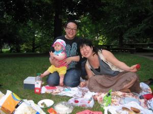 Zinester Ann Matsushima Chiu and family.
