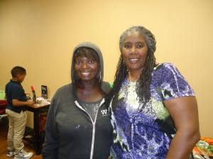 Tonya and lovely community activist Noni Causey.