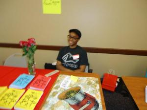 Attendee at the Women of Color Zine Symposium 2012