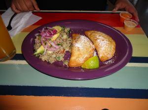 Delicious meal at Las Primas.