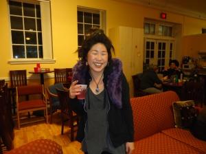 Ann a'misa Chiu at the Nov. 15 2013 WOC Zine Workshop.