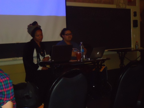 The Women of Color ZIne Workshops Panel-Siren Nation Festival 2014.