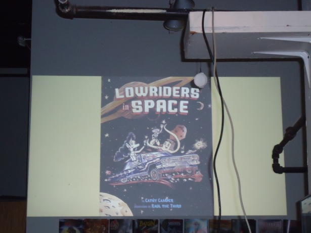 Lowriders in Space! Yes! :)