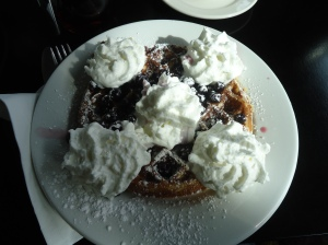 The PDX Black Feminism group chatted over Belgian waffles. Keep an eye out for the next meetup!