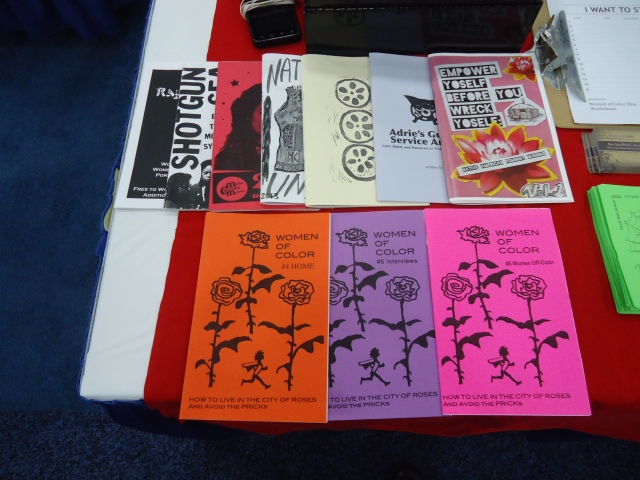 Women of Color Zines. If you don't know, you better ask somebody!