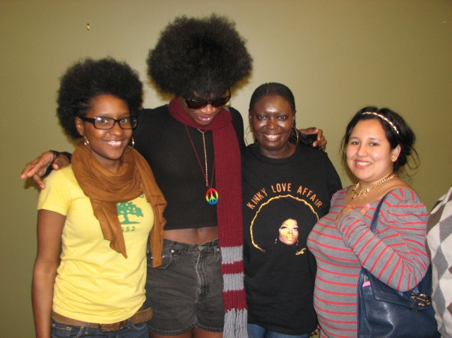 WOC Zine members meet Black Girl Dangerous (BDG) at the Queer Students of Color Conference 2013. Learn more about BDG: http://blackgirldangerous.org/